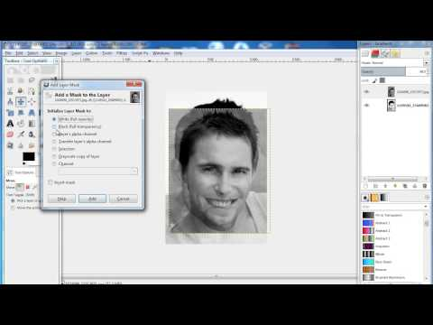 How to Make Face Swap in GIMP