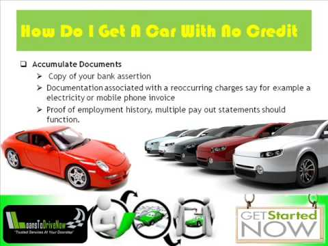 How Do I Get A Car Loan With No Credit And Bad Credit