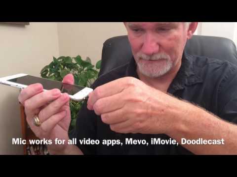 iRig Mic Install For IPhone Mevo App & Skype Interviews