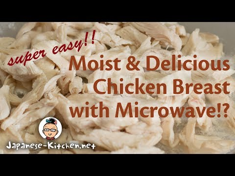 Moist & Delicious Chicken Breast with Microwave