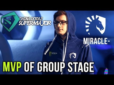 Miracle-, MVP of Team Liquid SUPERMAJOR CHINA Group Stage - Best Plays Dota 2
