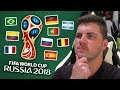 PREDICTING THE ENTIRE 2018 FIFA WORLD CUP