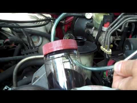 Homemade Fluid extractor
