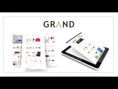 Grand - Responsive Furniture Magento Theme | Themeforest Download