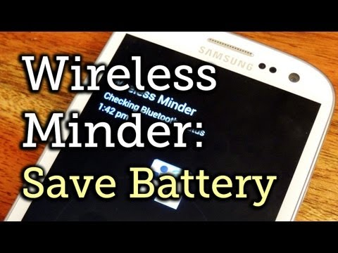 Extend Battery Life by Managing Wireless Radio Connections - Samsung Galaxy S3 [How-To]