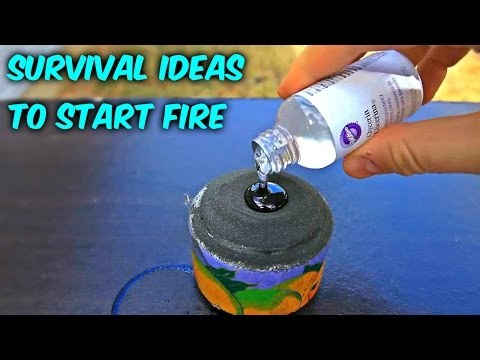8 Ideas to Start Fire without Matches - Compilation