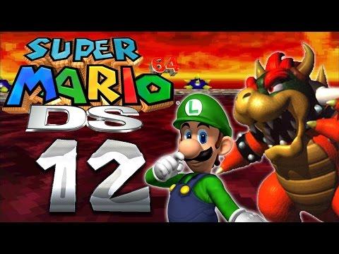 Let's Play SUPER MARIO 64 DS Part 12: Luigi vs. Bowser