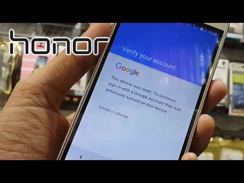 How to bypass Google protection in Huawei Honor phones | After reset review