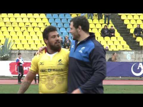 #RugbyRomania Secventele finalului  de meci Rusia - Romania 10-30