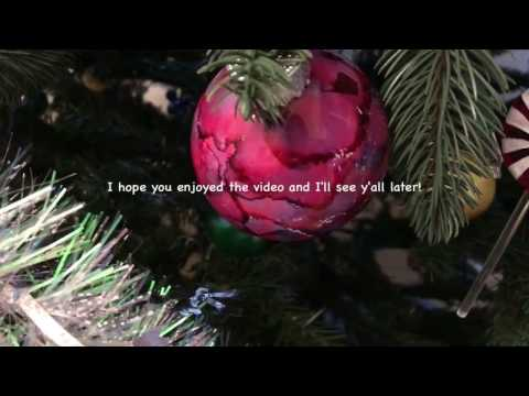 How to make a stained glass or water color christmas ornament/ 25 days of craftmas day 4
