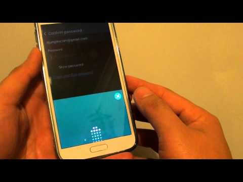 Samsung Galaxy S5: How to Turn Find My Mobile Remote Control On/Off