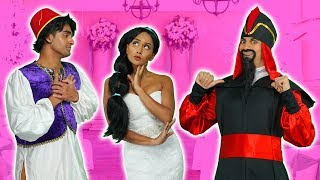 Download SHOULD JASMINE MARRY ALADDIN or JAFAR? (After a Spell, Which Disney Princess will Save Her?) 2019 Video