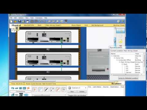 Packet Tracer 6.0.1 Terminal Server Part-1