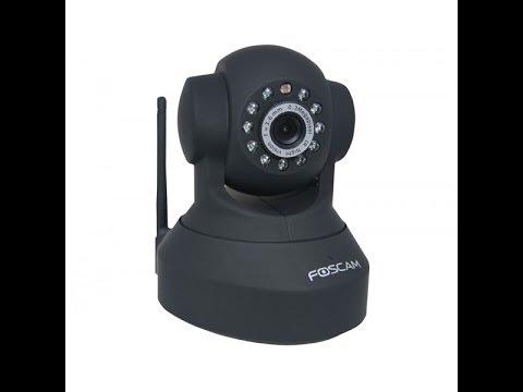 Configurazione IP Camera Foscam wifi, accesso remoto DDNS no-ip, allarme di movimento, avviso mail