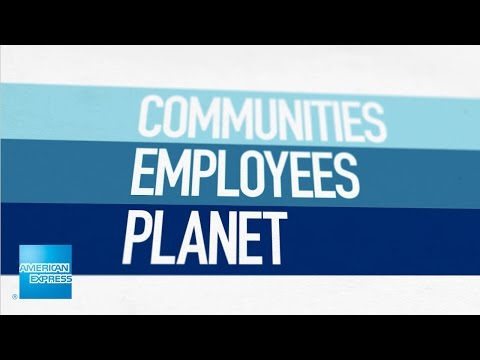 Corporate Citizenship: Serving our Communities, Employees, and Planet | American Express
