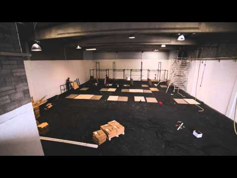 CrossFit Ireland Gym Design & Fit out from BLK BOX