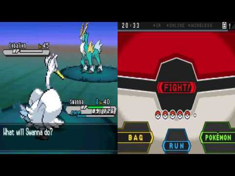 Pokemon White Version 2 - Catching Cobalion