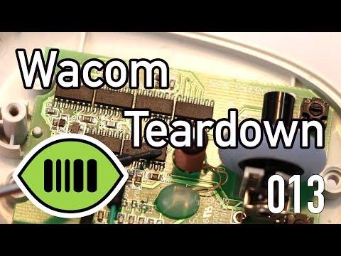 Wacom Teardown and Schematic - scanlime:013