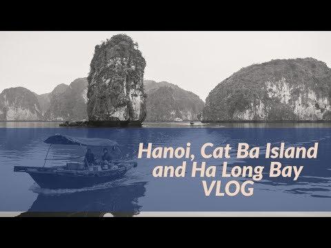 Hanoi, Cat Ba Island and Ha Long Bay VLOG (Vietnam)