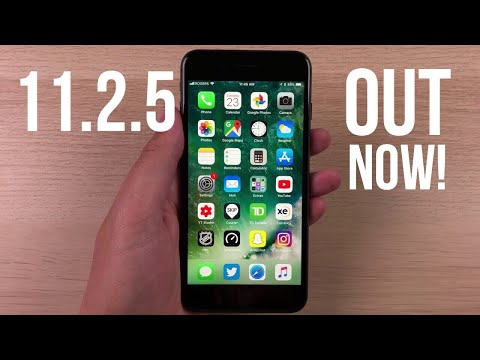 iOS 11.2.5 Out Now! New Siri Features & HomePod Compatibility