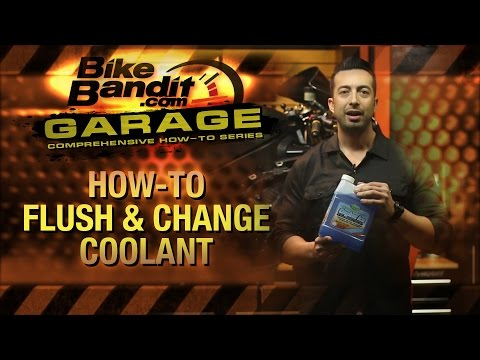 How-to Flush and Change Motorcycle Coolant | BikeBandit.com