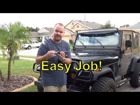 How To Replace Jeep Clutch Master And Slave Cylinder