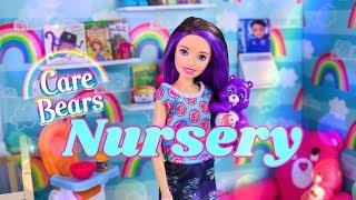 DIY - How to Make: Care Bears Nursery Doll Room   Crib   Mini Figures   Custom Rug & More