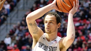 San Diego State Guard Matt Shrigley Ties Career-High In First Half