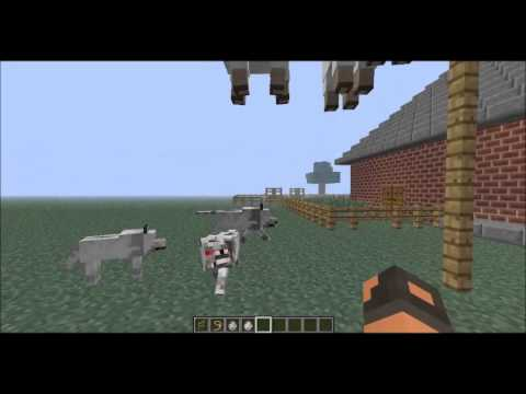 [Minecraft 1.6.1]-How To Make A Wolf Trap! :D