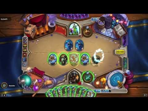 Hearthstone: Only 3 Cards Deck Dominating! #2 *Tavern Brawl* *Hunter Mech Deck*