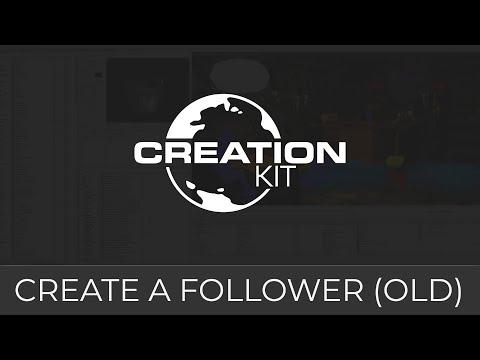 Creation Kit (Followers Tutorial Advanced)