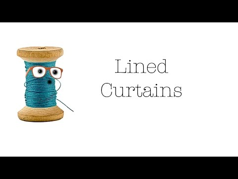 Lined Curtains by Sew Nerdy