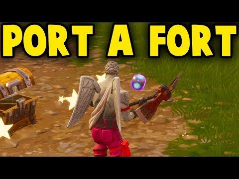 Fortnite: PORT A FORT GAMEPLAY! *NEW* PORT A FORT UPDATE GAMEPLAY || Fortnite Battle Royale!