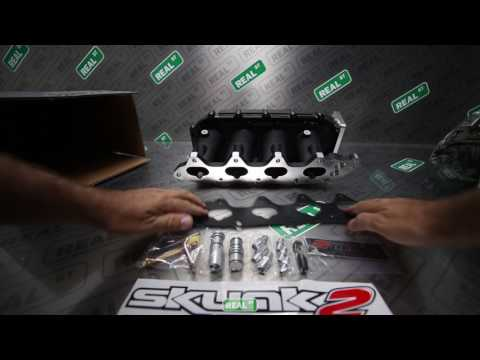 Unboxing Skunk2 Ultra Race Manifold 307-05-9055 - Real Street Performance