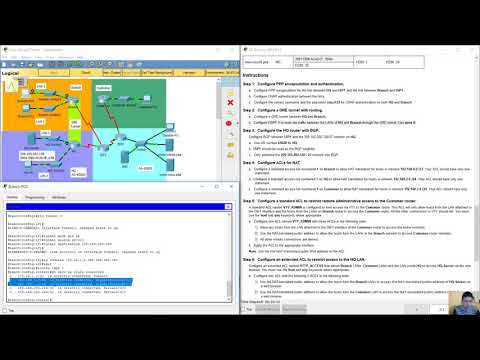 Connecting Networks 6.0 - Skills Assessment Packet Tracer