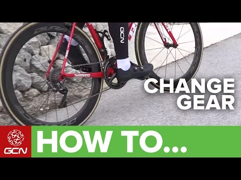 How To Change Gear On Your Bike | Road Bike Shifting Made Easy