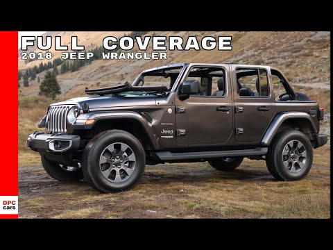 2018 Jeep Wrangler Sahara, Rubicon, Test Drive, Interior Full Coverage
