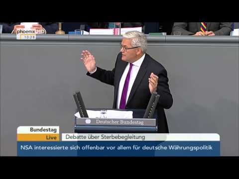Bundestag: Debatte zum Thema