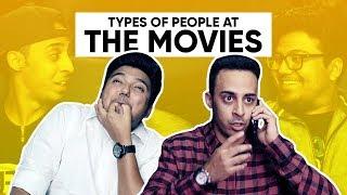 Types Of People At The Movies | People In Cinemas | Jordindian