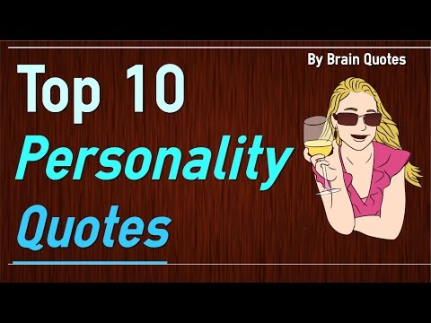 Top 10 Personality Quotes about Being Yourself