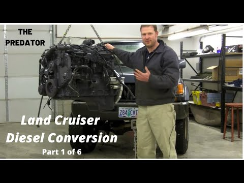Cummins 6BT Diesel Conversion in a Land Cruiser Part 1