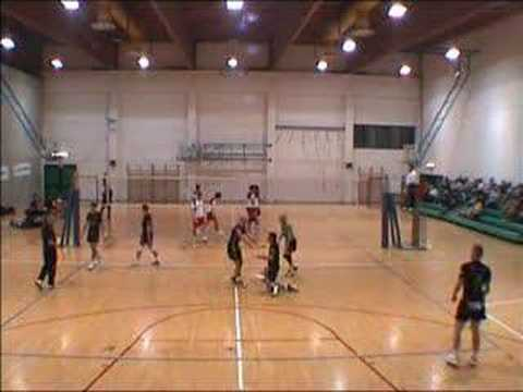 Yellow Card in Volleyball match