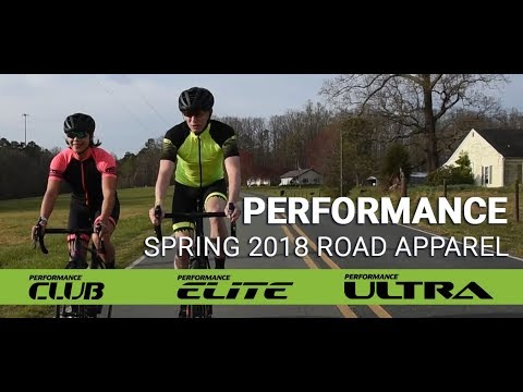 Performance Spring 2018 Road Cycling Apparel - Club, Elite & Ultra