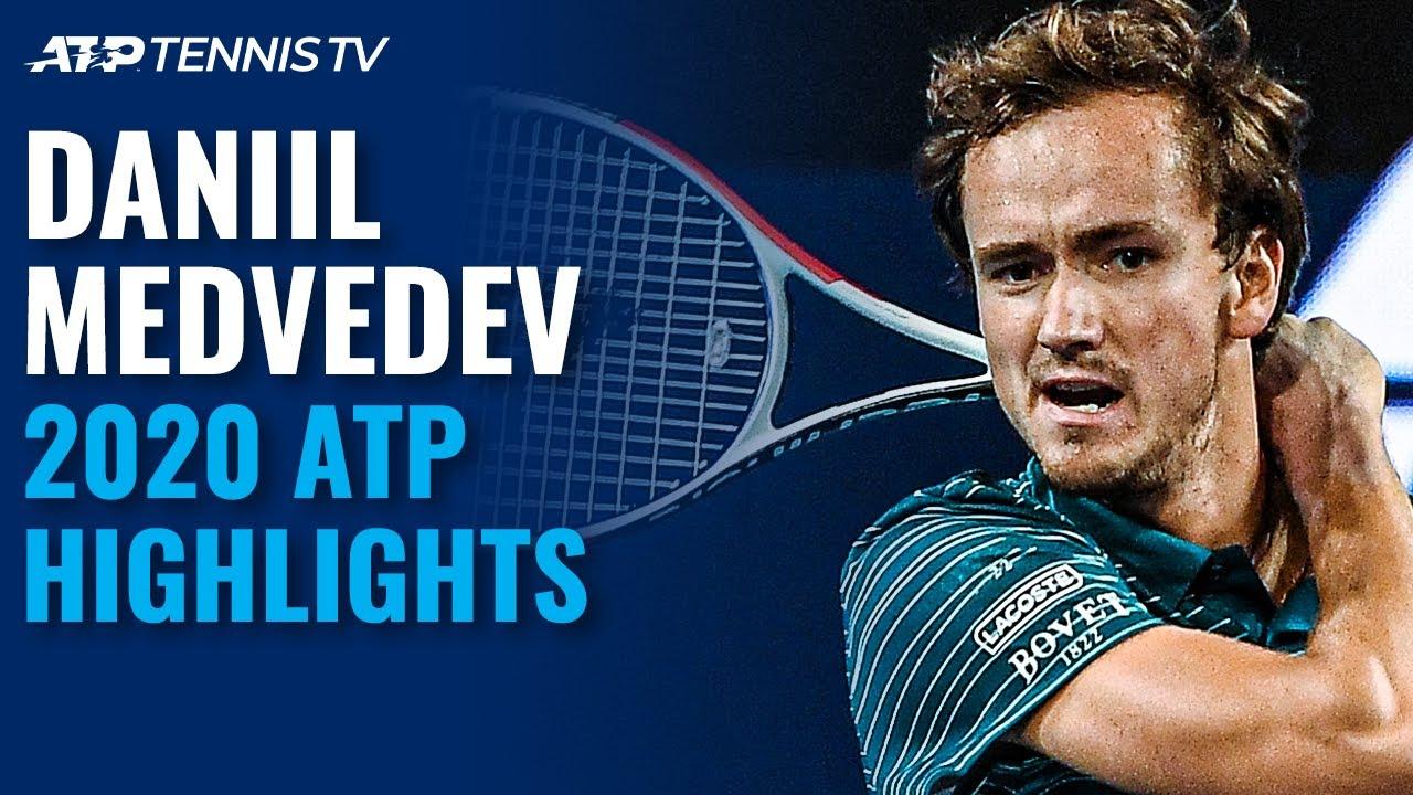 Daniil Medvedev: 2020 ATP Highlight Reel!