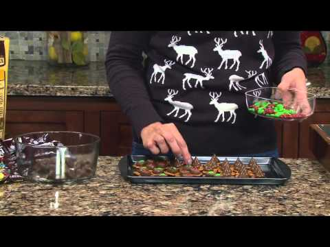 Forks & Flowers - Chocolate Pretzel Treats