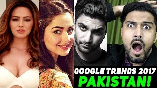 Google Trends 2017 - Watch SHOCKING results Shows Pakistan LOVE for..Hania, Fabiha, Ahad Raza