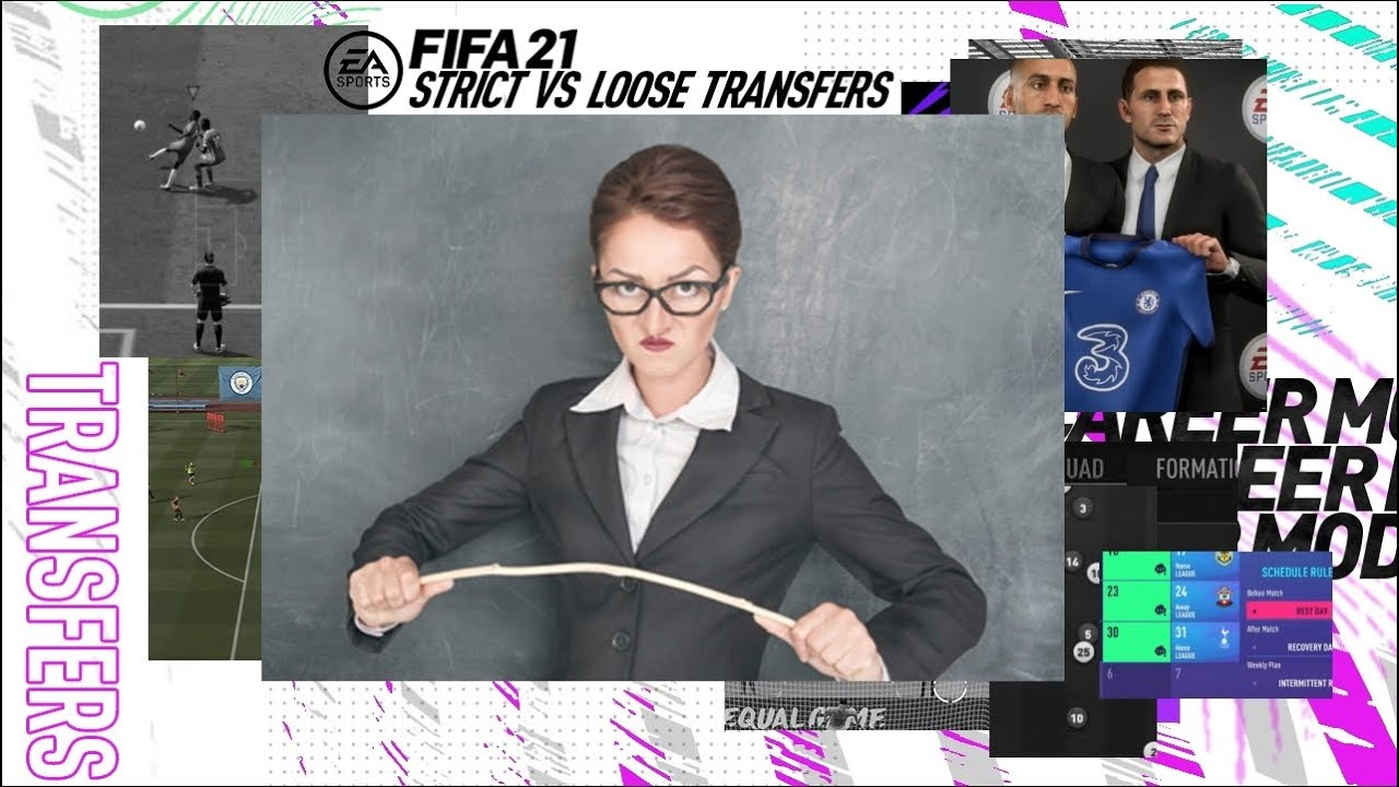 *Experiment* STRICT VS LOOSE TRANSFERS - FIFA 21 CAREER MODE