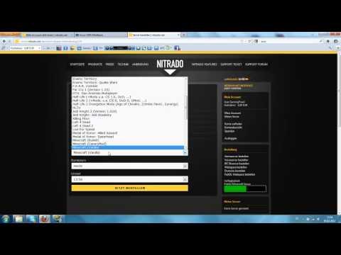 Nitrado.net Server Erstellen und Einstellungen