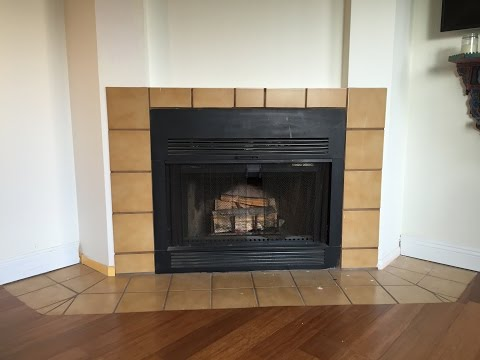 Stunning Remodel! | How to Tile a Fireplace | Remodel Your Fireplace | Easy Tiling Tutorial