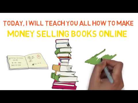 make money selling books online, full tutorial, with animation